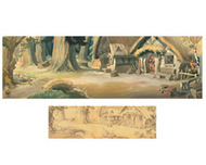 Snow White Artwork Snow White Artwork Dwarf House
