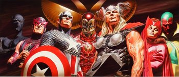 Alex Ross Comic Art Alex Ross Comic Art Epic Avengers Assemble (Signed by Stan Lee)