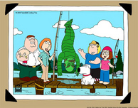 Family Guy Art Family Guy Art Family Fishing
