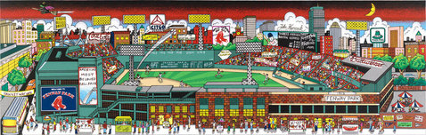 Charles Fazzino 3D Art Charles Fazzino 3D Art Fenway Park: The Pride of the Red Sox