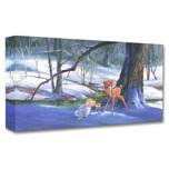 Bambi Art Bambi Art First Hint of Spring (Gallery Wrapped)