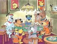 Hanna-Barbera Artwork Hanna-Barbera Artwork Five Paw Draw