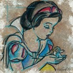 Snow White Artwork Snow White Artwork A Friend in Need