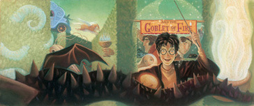 Harry Potter Artwork Harry Potter Artwork Harry Potter and the Goblet of Fire