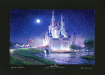 Peter and Harrison Ellenshaw Peter and Harrison Ellenshaw Cinderella's Grand Arrival (artist proof)