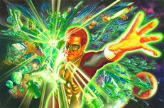 Alex Ross Comic Art Alex Ross Comic Art Green Lantern and the Power Ring