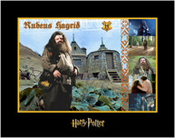 Harry Potter Artwork Harry Potter Artwork Rubius Hagrid