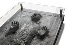 Star Wars Artwork Star Wars Artwork Han Solo in Carbonite Table