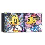 Mickey Mouse Artwork Mickey Mouse Artwork Happy Go Mickey and Minnie