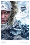 Star Wars Artwork Star Wars Artwork Han Solo:Hoth Intruder