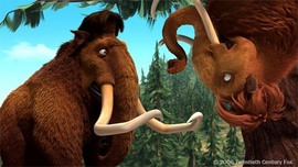 Ice Age Artwork Ice Age Artwork Ellie Upside Down