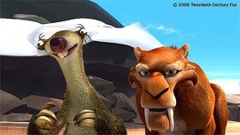 Ice Age Artwork Ice Age Artwork Diego and Sid