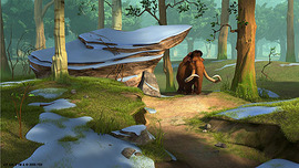 Ice Age Artwork Ice Age Artwork Forest Moment