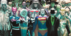 Alex Ross Comic Art Alex Ross Comic Art Infinitely Evil