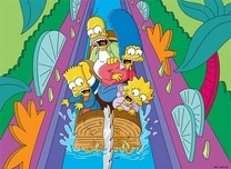 Simpsons Artwork Simpsons Artwork Itchy and Scratchy Land -