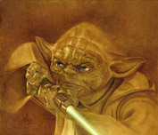 Star Wars Artwork Star Wars Artwork Jedi Master