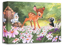 Bambi Art Bambi Art The Joy a Flower Brings