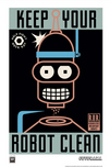 Futurama Futurama Keep Your Robot Clean