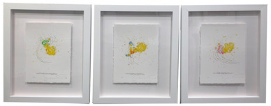 Tom Everhart Prints Tom Everhart Prints Kicked Off (SN) Set - Framed