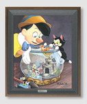 Jiminy Cricket Artwork Jiminy Cricket Artwork A Kiss from Cleo