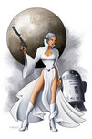 Star Wars Artwork Star Wars Artwork Leia