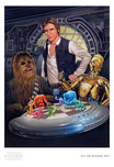 Star Wars Artwork Star Wars Artwork Let the Wookie Win