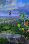 Mary Poppins Artwork Mary Poppins Artwork Let's Go Fly A Kite