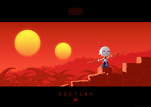 Star Wars Artwork Star Wars Artwork Little Ventress' Destiny