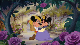Mickey Mouse Artwork Mickey Mouse Artwork Love in Bloom