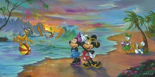Mickey Mouse Artwork Mickey Mouse Artwork Mickey and the Gang's Hawaiian Vacation