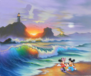 Mickey Mouse Artwork Mickey Mouse Artwork Mickey Proposes to Minnie