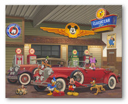 Pluto Artwork Pluto Artwork Mickey's Classic Car Club
