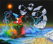 Mickey Mouse Artwork Mickey Mouse Artwork Mickey the Composer