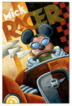 Mickey Mouse Artwork Mickey Mouse Artwork Mick Racer