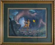 Bambi Art Bambi Art Moment of Discovery (Framed)
