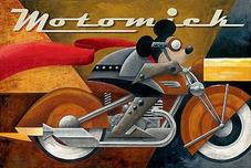 Mickey Mouse Artwork Mickey Mouse Artwork Moto Mick