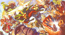 Alex Ross Comic Art Alex Ross Comic Art New Gods