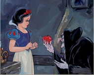 Snow White Artwork Snow White Artwork No Ordinary Apple
