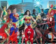 Alex Ross Comic Art Alex Ross Comic Art Where Justice Resides