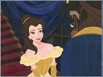 Beauty and the Beast Art Beauty and the Beast Art First Date