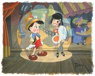 Pinocchio Artwork Pinocchio Artwork Ooo La La
