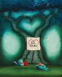 Fabio Napoleoni Fabio Napoleoni Out of The Blue (PP #1) Paper  - Framed