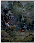 Mickey Mouse Artwork Mickey Mouse Artwork Prehistoric Mouse