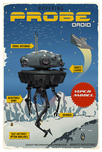 Steve Thomas Star Wars Travel Posters Steve Thomas Star Wars Travel Posters Probe Droid