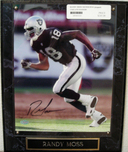 Sports Memorabilia & Collectibles Sports Memorabilia & Collectibles Randy Moss Signed - Plaqued