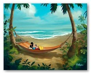 Mickey Mouse Artwork Mickey Mouse Artwork Rest and Relaxation