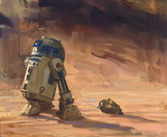 Star Wars Artwork Star Wars Artwork Saving Face