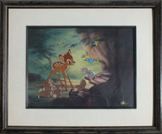 Bambi Art Bambi Art Say Bird (Framed)