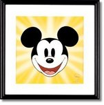 Mickey Mouse Animation Cels Mickey Mouse Artwork Here's Mickey!