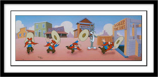 Yosemite Sam Artwork Yosemite Sam Artwork Mine Shaft Shuffle